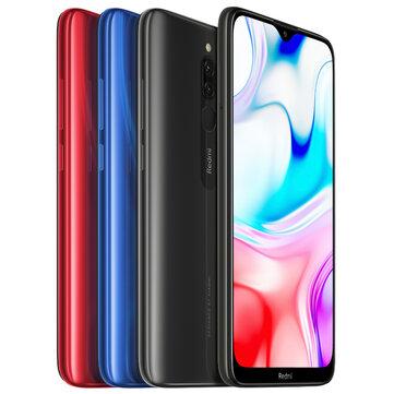 Xiaomi Redmi 8 Global Version 6,22 tommer dobbelt bagkamera 3GB 32GB 5000mAh Snapdragon 439 Octa core 4G Smartphone