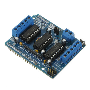 Motor Driver Shield L293D For Arduino Duemilanove Mega U NO