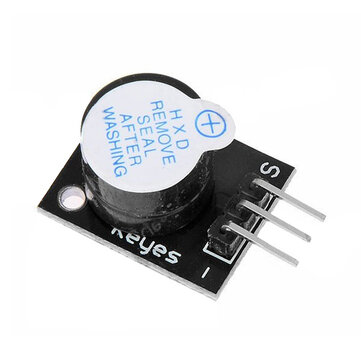 Active Speaker Buzzer Alarm Module For PC Printer Geekcreit for Arduino - products that work with official Arduino boards