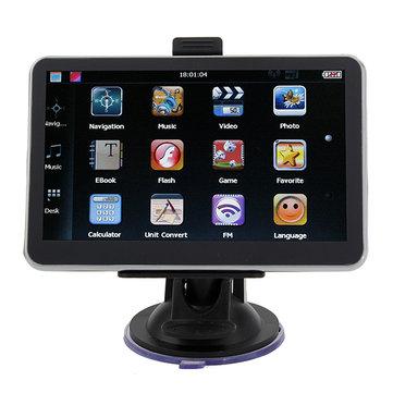 Car GPS Navigation 5 Inch HD Touch Screen YL-710 MTK FM AV BT