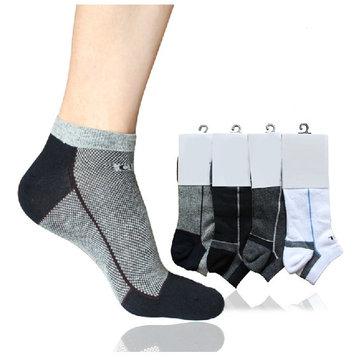 पुरुषों की फैशन अत्यधिक लोचदार कपास आकस्मिक घुटने मोजे