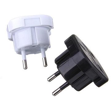 2 Pin Universal UK Ke EU Travel Plug Adaptor Pengisi Daya