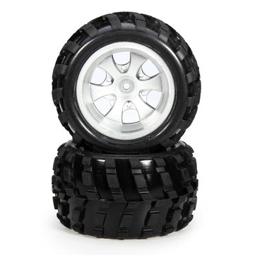 2PCS Wltoys A979 Front Wheel Left Side Tires RC Car Spare Parts A979-01 COD