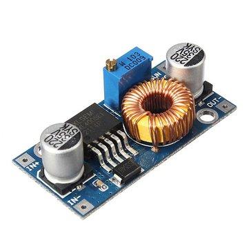 5A Geekcreit® XL4005 DC-DC Adjustable Step Down Module Power Supply Converter
