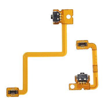 Botón hombro derecho hacia la izquierda con el cable de la flexión para nintendo 3ds l / interruptor r