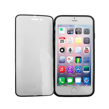 TPU Double Side Beskyttende Flip Cover Case For iPhone 6