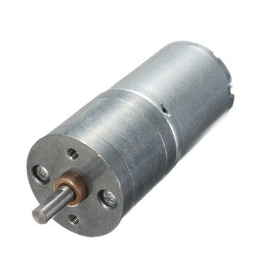 DC12V 100RPM Powerful High Torque Gear Box Motor Speed Reduction