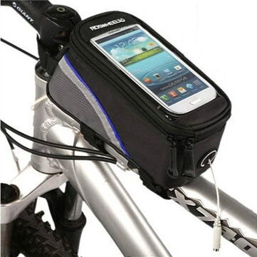 Roswheel Bicycle Bike Frame Front Tube Bag 4.2 Inch Cell Phone
