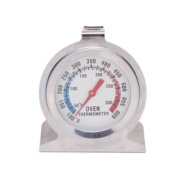 0-300 Derajat Stainless Steel Oven Suhu Thermometer Gauge Dial