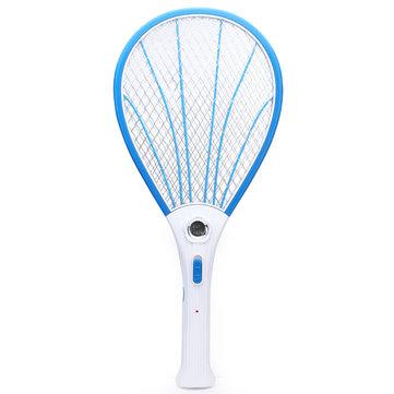 Uppladdningsbar elektrisk myggfluga Pest Killer Zapper racket med LED