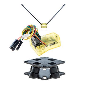 OpenPilot CC3D Atom Mini CC3D FPV Controlador de vuelo CC3D EVO para RC Drone FPV Racing Multi Rotor
