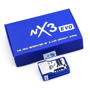 Upgraded NX3 Evo 3 Axis Gyro Flight Controller Autobalance Stabilizer For RC Airplane