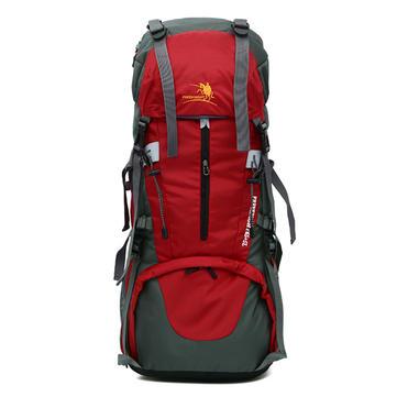 メンズ女性防水屋外旅行Nylon登山大容量バックパックショルダーバッグ