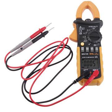 HYELEC PEAKMETER MS2108 Digital Clamp Tester Inrush Current True Rms Ohm Meter Clamp Meter Backlight